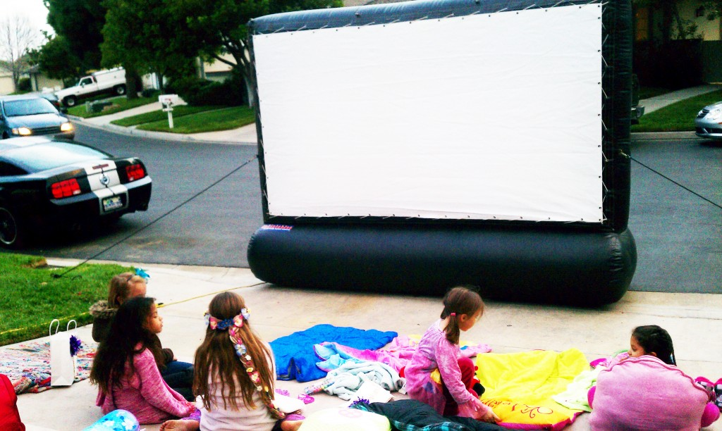 birthday-party-movie-screen